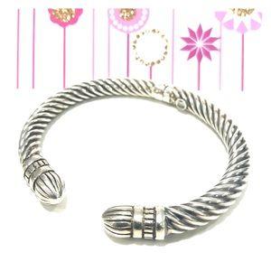 Silver Bracelet marked 625 Italy